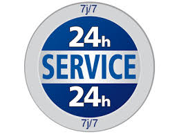 Service 24/24 - 7/7